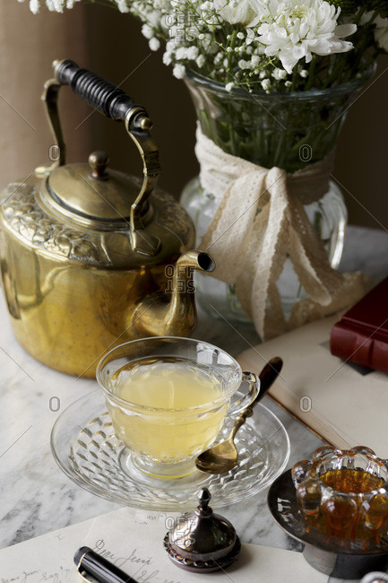 Ginger Spiced Tea