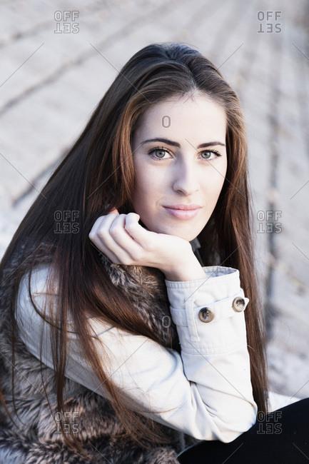 Young Woman, Portrait, Croatia