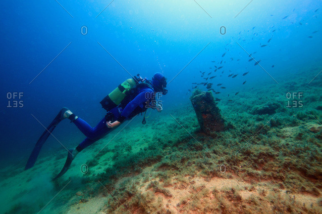 Diving, Adriatic Sea, Croatia, Europe