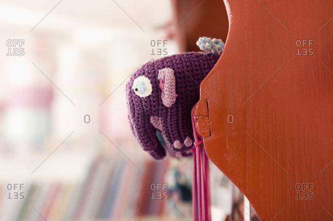 Knitted Elephant, Munich, Bavaria, Germany, Europe