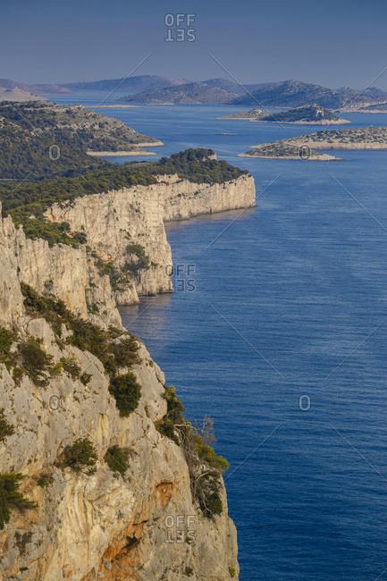 Rocky coast, Dugi Otok, Dalmatia, Croatia