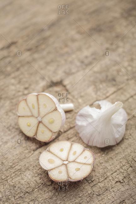 Fresh Garlic, Close-up, Germany