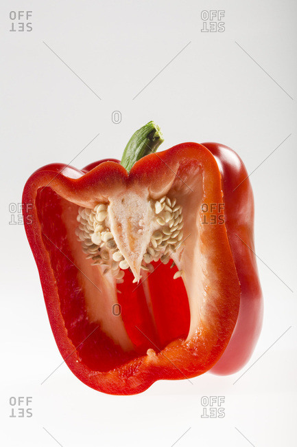 Red Bell Pepper, Croatia, Slavonia, Europe