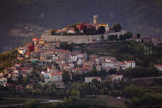 Motovun, cityscape, Istria, Croatia