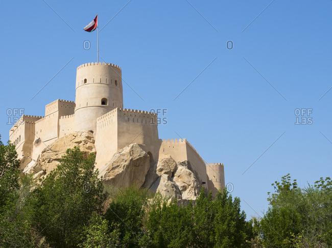 Oman- Nachl- Fort Nakhl