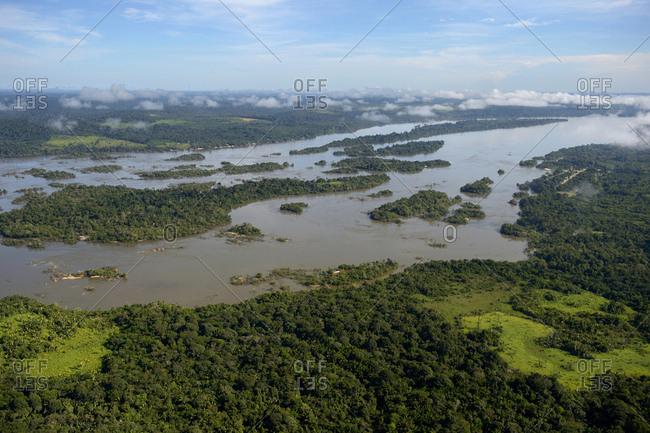 Brazil- Para- Itaituba- Amazon rainforest- Rio Tabajos