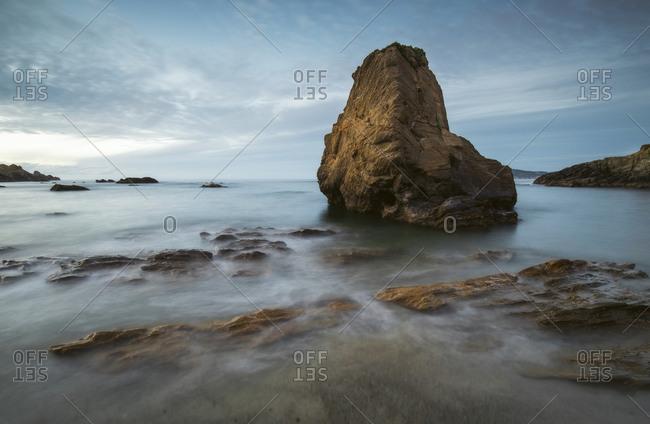 Spain- Galicia- Ferrol- Sartana Beach