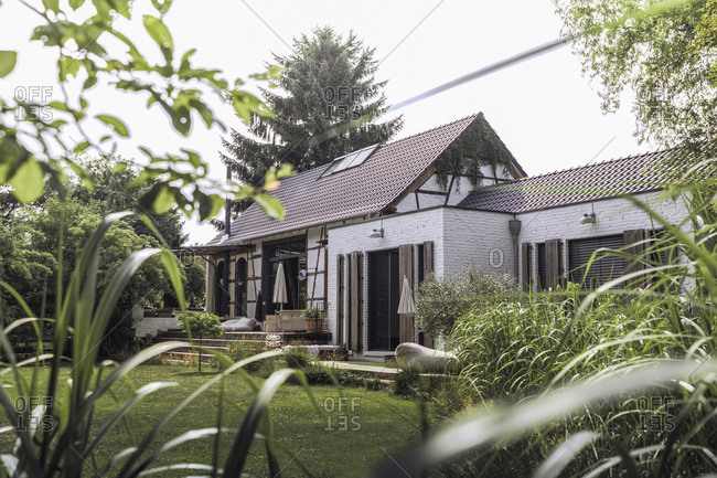 Germany- Country house with garden