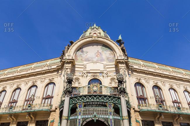 Czech Republic- Prague- parish hall