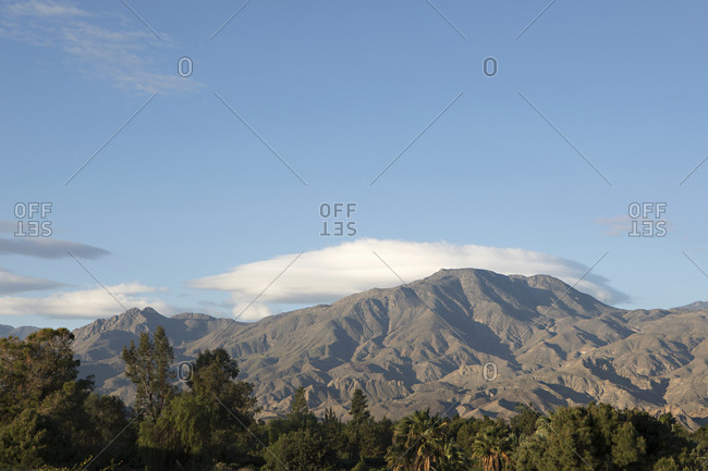 Palm Springs mountain landscape
