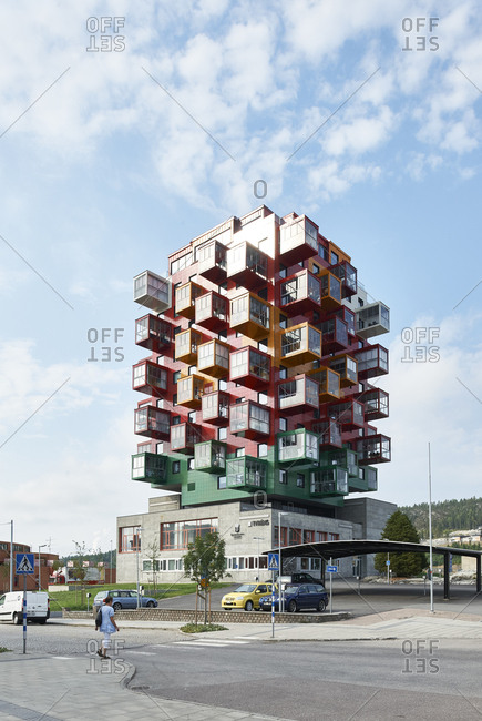 Angermanland, Sweden - August 5, 2014: Ting1 building