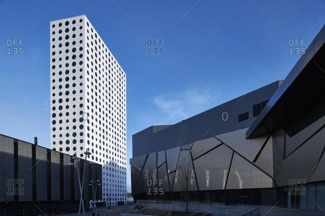 Solna, Sweden - December 1, 2015: Mall of Scandinavia