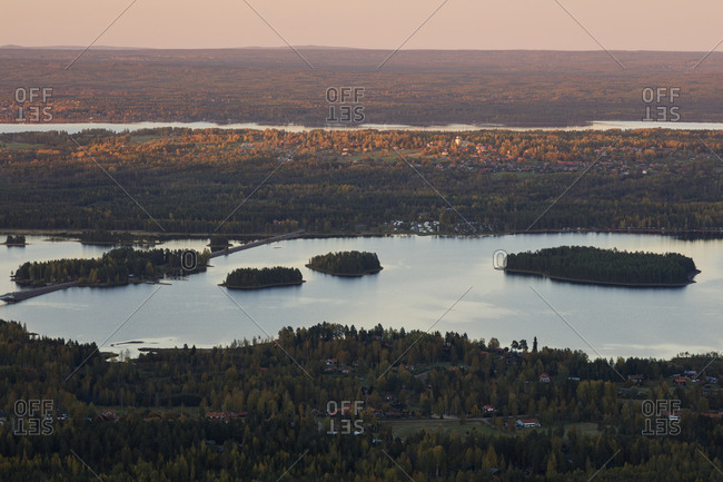 River and forest in Dalarna, Sweden