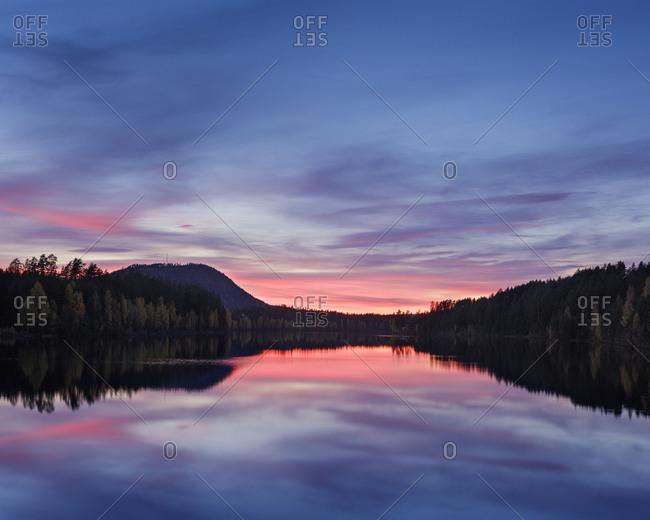 Osterdal River in Dalarna, Sweden