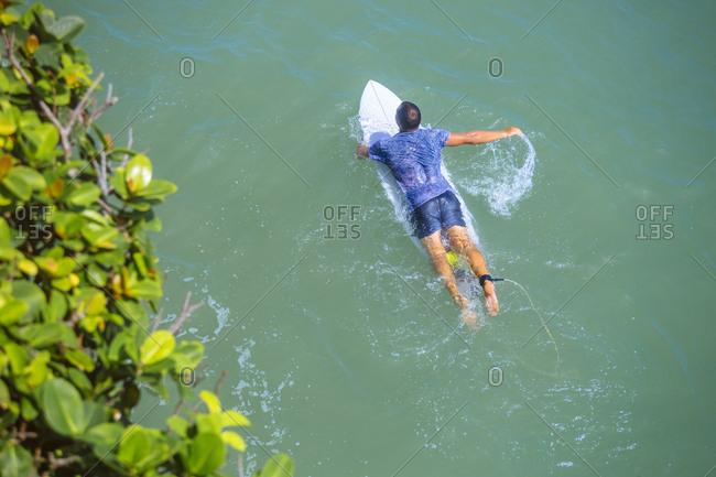 Indonesia- Bali- surfer