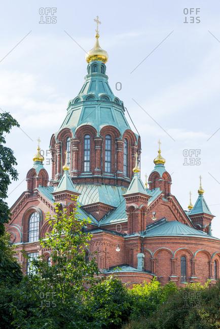 Finland- Helsinki- Uspenski Cathedral