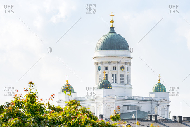 Finland- Helsinki- Helsinki Cathedral