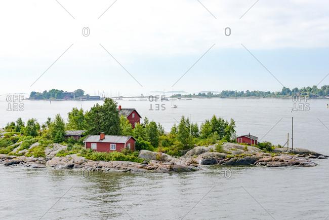 Finland- Helsinki- small island