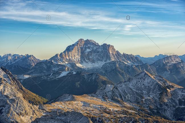 Italy- Veneto- Dolomites- Civetta