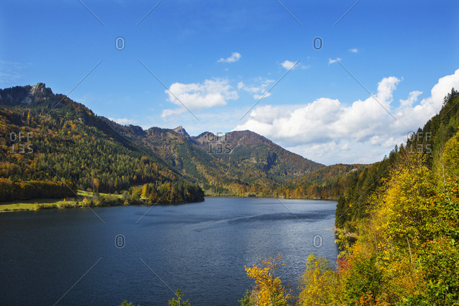 Austria- Upper Austria- Salzkammergut- St. Wolfgang- Schwarzensee- Schafberg