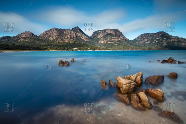 Tasmania scenery in Australia