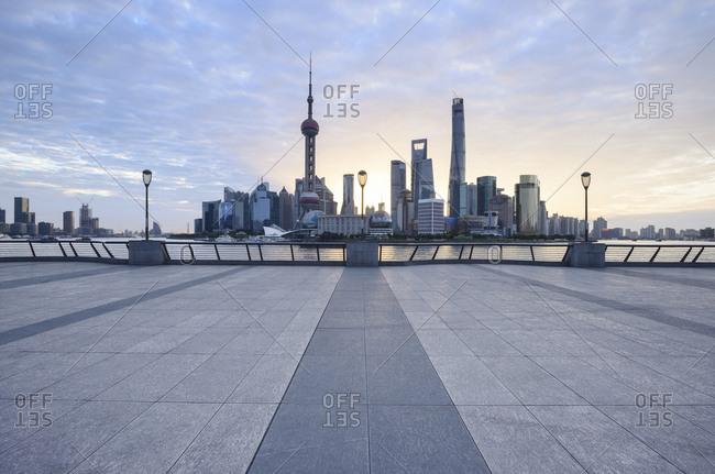 Shanghai, China-July 13, 2011: Shanghai City Scenery