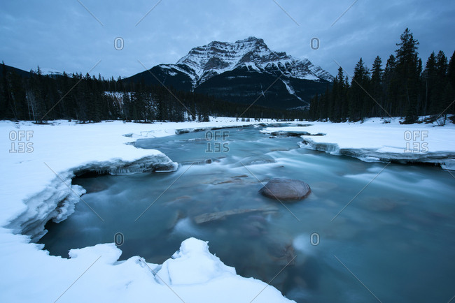 Canada's ice and snow scenery