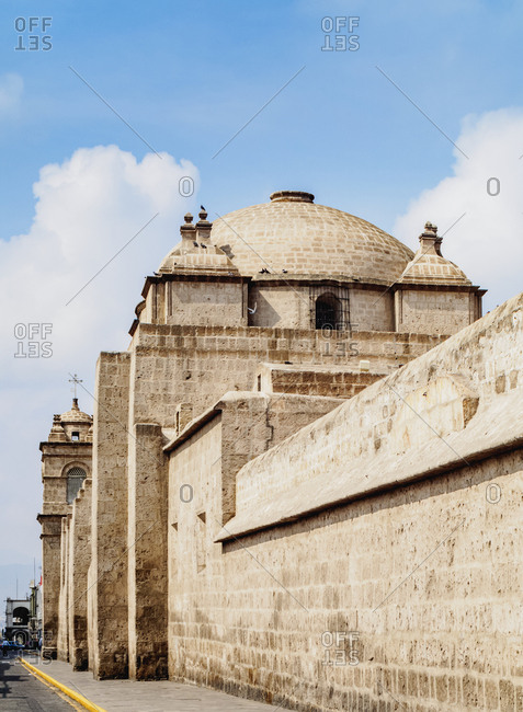 Santa Catalina Church, part of the Monastery, UNESCO World Heritage Site, Arequipa, Peru, South America