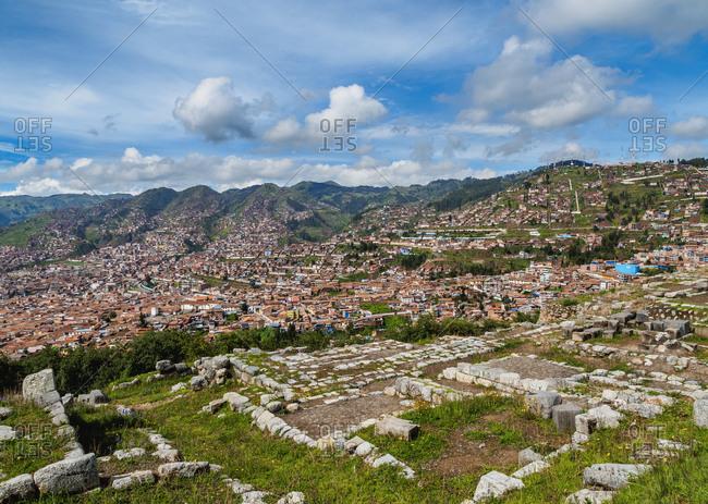 Sacsayhuaman Ruins, Cusco Region, Peru, South America