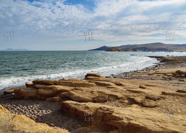 Coast of Paracas National Reserve, Ica Region, Peru, South America