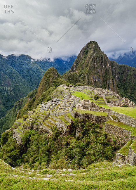 Machu Picchu Ruins, UNESCO World Heritage Site, Cusco Region, Peru, South America