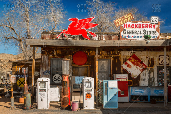 Hackberry General Store on Route 66