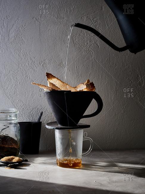Pour over coffee stoneware