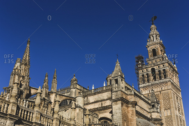 Seville Spain typical architecture Andalusia Monuments