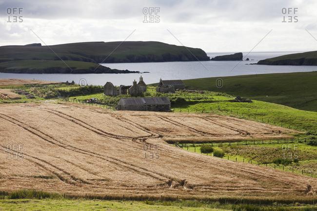 Rural coastal landscape