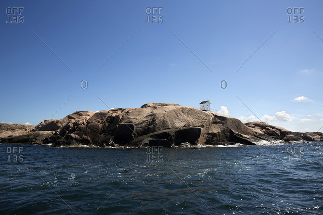View of rocky coast - Offset