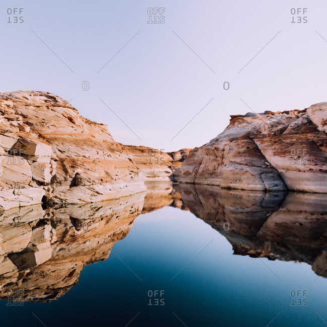 Secluded Lake Powell resort
