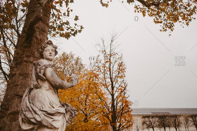 Sculpture in Tuileries garden