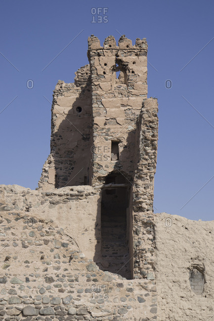 Ruined village of Al Munisifeh, near Ibra, Ash Sharqiya North, Oman