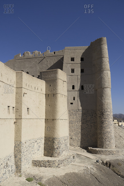 Bahla Fort in Bahla, Oman