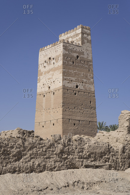 Fortified tower of Awlad Murshid, in Jalan Bani Bu Hassan, Ash Sharqiya South, Oman