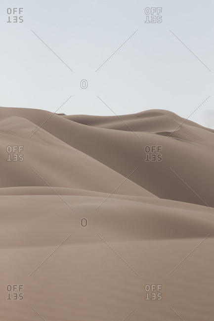 Desert dunes in the Empty Quarter, Oman