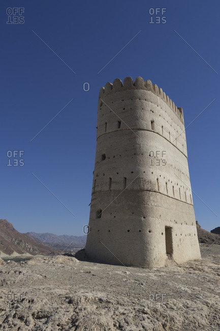 Watchtower south of Muscat, Oman