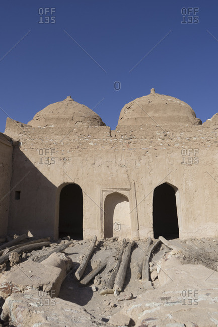 The old mosque at the fort of Jalan Bani Bu Ali, Ash Sharqiya South, Oman