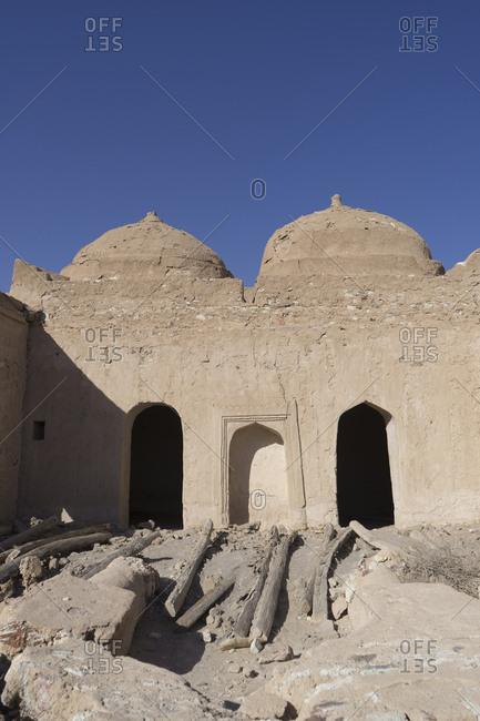 The old mosque at the fort of Jalan Bani Bu Ali, Ash Sharqiya South, Oman