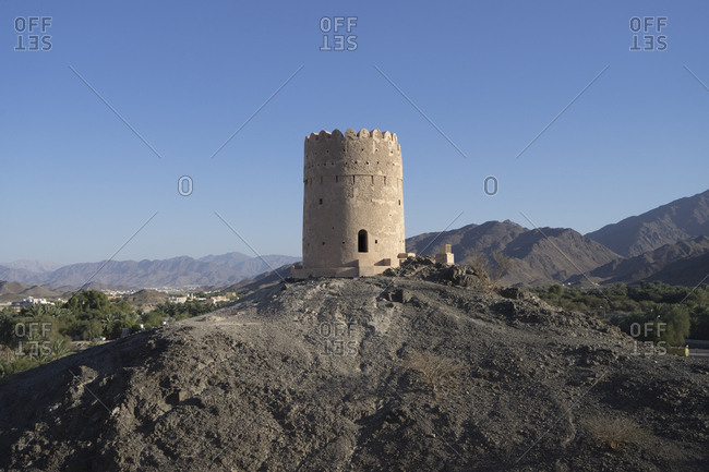 Fortress in the Samail region of Oman