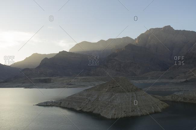 Wadi Dayqa, Oman at sunrise