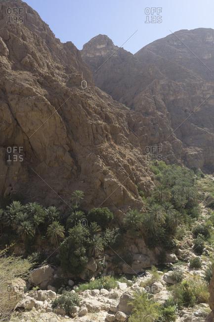 Wadi Shab, Oman canyons