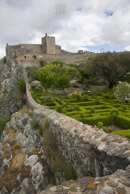 The Castle of Marvao, a medieval castle in Marvao, Portugal, on April 29, 2017.