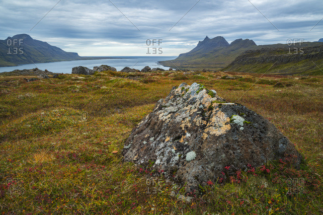 The Mountains And Coastline Of The Strandir Coast; West Fjords, Iceland